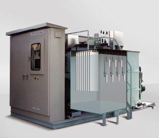 電気分解式排出水処理装置 J-TREAT