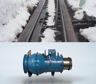 熱風式融雪機 TF型